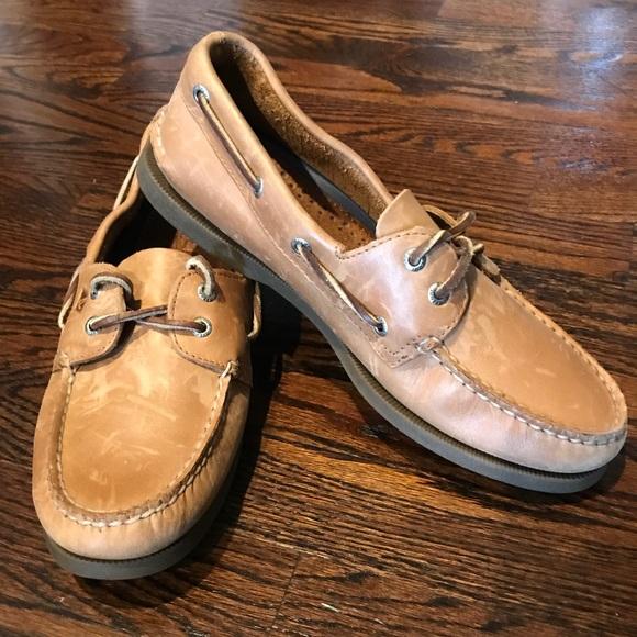 Sperry Original Boat Shoe In Sahara